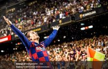 hasil liga spanyol - griezmann gemilang,  barcelona pesta gol ke gawang betis