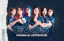 EVOS eSports Perkenalkan 6 Roster Cantik Divisi Mobile Legends Ladies