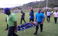 Video Ketika Sejumlah Pesepak Bola Tersambar Petir di Jamaica
