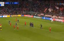 video - aksi tipuan cerdik pemain bayern muenchen saat cetak gol ke gawang red star belgrade