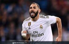 Minus 1 dari Ronaldo, Benzema Resmi Masuk Klub 100 di Liga Champions