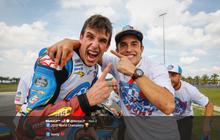 Alex Marquez Alami 'Crash' Saat Kendarai Motor Honda Pertama Kalinya