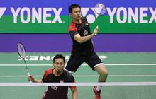 Hasil Hong Kong Open 2019 - Main Rubber, Ahsan/Hendra Jadi Runner-Up