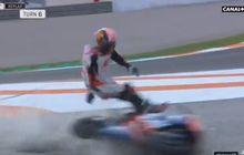 VIDEO - Kecelakaan Horor Johann Zarco di MotoGP Valencia 2019