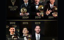 10 Tahun Lionel Messi dan Ballon d Or, Diantar Kakak sampai Jadi Ayah Penguasa Dunia