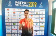 SEA Games 2019 - Anthony Ginting Sempat Gugup Hadapi Final Beregu Putra