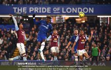 Hasil Liga Inggris, Chelsea Tekuk Aston Villa Berkat Kepala dan Umpan Dada Abraham