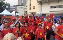 Sindiran Lucu hingga Keakraban Suporter Timnas U-22 Indonesia dan Vietnam