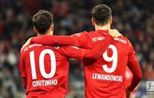 Hasil Lengkap Bundesliga - Coutinho Terlibat 5 Gol, Bayern Muenchen Menang 6-1