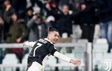 Brace Ronaldo ke Gawang Parma Samai Rekor Striker Legendaris Juventus