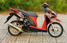 simple modification Honda Vario 125, luxury braking and legs