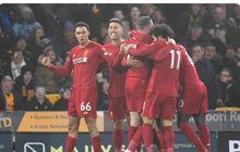 Hasil dan Klasemen Liga Inggris - 9 Lagi, Liverpool Menuju Rekor Tak Terkalahkan Terpanjang