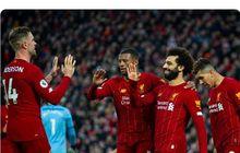 Hasil Babak I - Mohamed Salah dan Jordan Henderson Nyekor, Liverpool Unggul 2-1