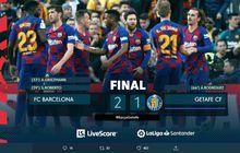 Hasil Lengkap dan Klasemen Liga Spanyol - Real Madrid Dipepet Barcelona