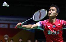 Hasil Final Kejuaraan Beregu Asia 2020 - Anthony Ginting Bawa Indonesia Unggul