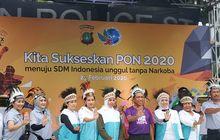 Kemenpora dan Polda Metro Jaya Kampanye Gelaran PON 2020 di Papua