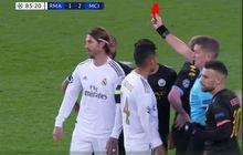 4 Momen Pengusiran Sergio Ramos, Si Raja Kartu Merah di Liga Champions