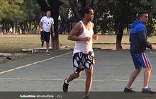 Foto dan Video Ronaldinho Saat Beraksi di Turnamen Futsal Penjara Beredar