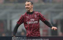 Cedera saat Latihan Bareng AC Milan, Ibrahimovic Pilih Pulang Kampung ke Swedia