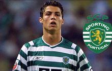 Pakai Gaya Rambut Lawas, Cristiano Ronaldo Ditertawai Rekan Satu Tim