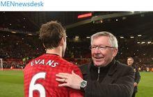 Sir Alex Ferguson Butuh 10 Detik untuk Tolak Latih Timnas Inggris