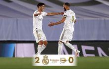 Hasil Liga Spanyol - Berkat Penalti dan VAR, Real Madrid Jaga Jarak dengan Barcelona