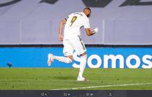 Real Madrid vs Alaves - Catatan Hebat Karim Benzema, 100 Persen Sukses Penalti