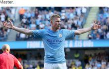 Hasil Liga Inggris - Kevin De Bruyne Cetak Sejarah Assist, Man City Ukir 102 Gol