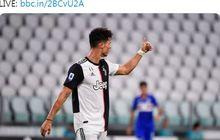 Hasil Liga Italia - Cristiano Ronaldo Manusia Paling Tajam di Eropa, Juventus Juara Serie A