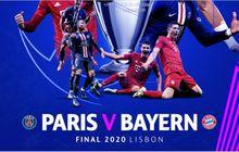 PSG vs Bayern Muenchen - Ikuti Siklus sejak 2007-2008, Final Bakal Adu Penalti