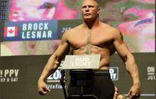 Sudah Tajir Melintir, Bos UFC Ragu Brock Lesnar Akan Tarung Lagi