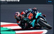 Hasil MotoGP Catalunya 2020 - Quartararo Kembali Menang, Aksi Valentino Rossi Sia-sia karena Kecelakaan