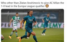 Zlatan Ibrahimovic Butuh Waktu 3.137 Hari untuk Cetak Gol di Kancah Eropa Lagi