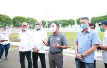 Menpora Kaget dengan Sekitaran Stadion Gelora 10 November Surabaya