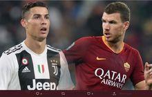 Proyeksi Duet Ronaldo-Dzeko di Juventus: Pasangan 69 Tahun, 130 Gol