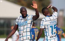 Uji Coba Inter Milan - 2 Laga, 12 Gol Tanpa Kebobolan, 7 Diborong Lukaku-Martinez