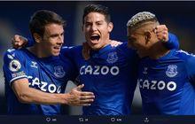 Dewan Real Madrid Kesal Lihat James Rodriguez Bersinar di Everton
