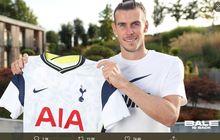 RESMI - Gareth Bale Balik ke Tottenham Hotspur, Baru Bisa Main 17 Oktober