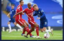 Babak I Chelsea vs Liverpool - Kepa Nyaris Blunder Konyol, Christensen Kartu Merah