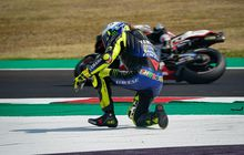 Tak Pikirkan Hasil, Rossi Pilih Berusaha Maksimal di MotoGP Catalunya