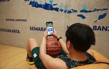 Pertama di Indonesia, Kalian Bisa Adu Skill Basket via Aplikasi