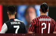 Zlatan Ibrahimovic Lebih Berpengaruh di Liga Italia Ketimbang Cristiano Ronaldo