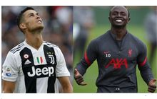 Usai Cristiano Ronaldo Positif Covid-19, Bintang Liverpool Sadio Mane Ucap Alhamdulillah