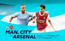 Link Streaming Manchester City Vs Arsenal, Pekan Kelima Liga Inggris