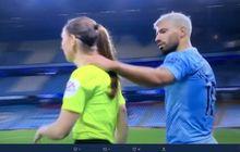 Sergio Aguero Rangkul Hakim Garis Wanita, Pelatih Manchester City Beri Pembelaan