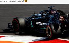 Hasil FP1 GP F1 Bahrain 2020 - Lewis Hamilton Jadi Pembalap Tercepat