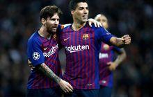 Prediksi Line-up Barcelona Vs Atletico Madrid - Lionel Messi Reuni Aneh dengan Luis Suarez, Koeman Absen di Lapangan