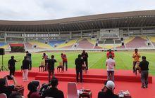 Launching Nama dan Markas Baru, Bhayangkara Solo FC Donasikan 4000 Sembako
