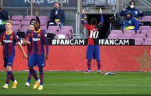 Barcelona Minta La Liga Hapus Kartu Kuning Lionel Messi untuk Selebrasi Hormati Diego Maradona