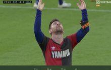 Selebrasi untuk Diego Maradona, Lionel Messi Didenda Rp 10 Juta